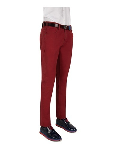 D'S Damat Pantolon Bordo